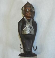 Old 1896 FOXY GRANDPA COMIC BOOK CHARACTER Cast Iron BALANCING GAME TOY FIGURINE