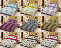 Duvet Cover or complete Set With Pillow Cases King Size Double Super Single