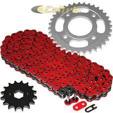 Red O-Ring Drive Chain & Sprockets Kit Fits HONDA CM400A CM400C CM400E CM400T