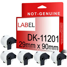 5 ROLL OF DK11201 DK 11201 BROTHER COMPATIBLE ADDRESS LABELS 29mm x 90mm