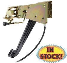 Black Lokar XEFB-9001 Emergency Foot Type Brake Pedal Alum//Rubber