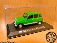 RENAULT 4 GTL GT-L GREEN 1989 1:43 MINT!!!