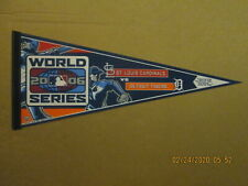 Mlb Cardinals vs Tigers Vintage 2006 World Series I Live For This Logo Pennant