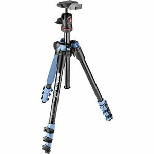 Manfrotto BeFree Compact Travel Aluminum Alloy Tripod with Case (Blue)