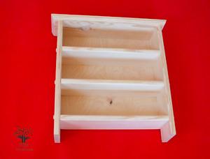 s39 Wooden Wall Mounted Shelving Unit | Solid Pine Shelf | Timber Shelf
