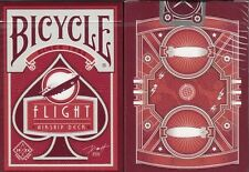 Flight Airship Red Bicycle Playing Cards Poker Size Deck Custom Limited Edition