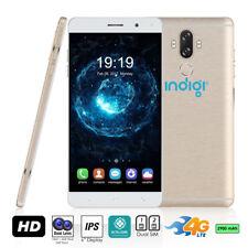 Indigi® 4G LTE SmartPhone (Android 7 Nougat + Fingerprint Scanner + 13MP camera)