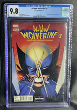 ALL NEW WOLVERINE #1 CGC 9.8 2016 1ST LAURA KINNEY AS WOLVERINE X-23 NYX 3 (B7)