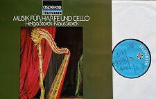 MUSIK Cello Harfe Harp & Cello Works K. & H. Storck LP TELEFUNKEN 641020 NM