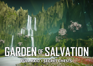 Garden of Salvation Full Raid + Secret Chests (XBOX)