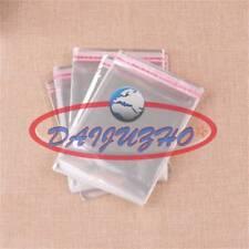 New 1000pcs Wholesale Lots Self Adhesive Seal Plastic Bags 3x7cm