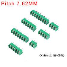 Tornillo de bloque terminal de PCB Conector MG/DG/KF7.62 - Tono de 2/3/4 vías 7.6mm 300V 20A