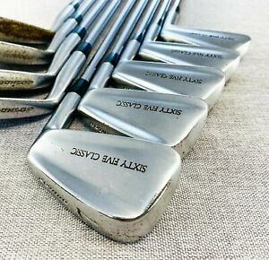 Dunlop Sixty Five Classic Iron Set (3-P+S) Reg Flex Steel # T278