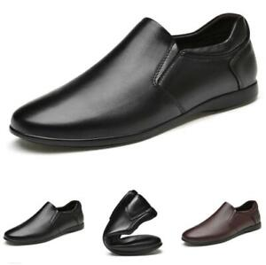 Mens Pumps Slip on Loafers Soft Driving Moccasins Business Leisure Shoes 38-46 L
