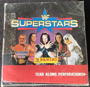 1997 Panini WWF Wrestling Sticker Sealed Box Rock Stone Cold Rookie 50 Packs