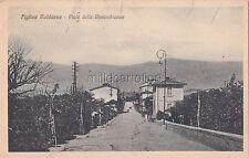 FIGLINE VALDARNO - Viale delle Rimembranze 1927