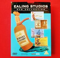 EALING STUDIOS DVD COLLECTION - ( 4 DISC + POSTCARDS ) - 2004 - WHISKY GALORE