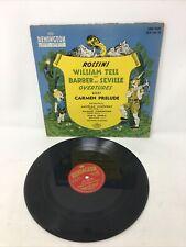 """Rossini - William Tell - REMINGTON RLP 149 18 10"""" VINYL"""