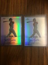 (2)2015 LEAF METAL DRAFT AUTO JAVIER GUERRA PADRES lot $1 shipping