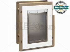 PetSafe Wall Entry Aluminum Insulated LARGE Pet Dog Door PPA11-10917 Up to 100lb