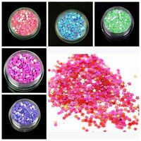 DIY 1000pcs Stars loose sequins Paillettes sewing Wedding craft many colors pick