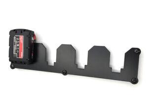 Wandhalterung für Milwaukee Akkuschrauber Akku 18V Halter Wandhalter 4-Fach