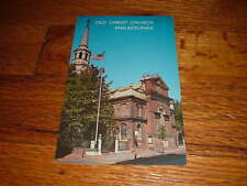 Nu OLD CHRIST CHURCH Philadelphia Pennsylvania POSTCARD