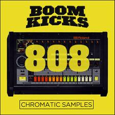 Roland TR-808 Sub Bass Boom Kick Drum Chromatic Samples (24-Bit WAV) Hip Hop EDM