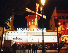 Moulin Rouge POSTCARD Paris France Steve Greaves City Print Card French Night
