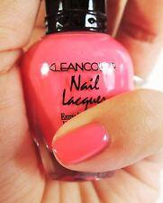 1PC Kleancolor Pink Nail Polish - #22 Barbie Pink Color Nail Polish