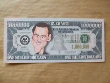 1  X  JIM  CAREY   NOVELTY  $1 MILLION  DOLLAR  NOTE.