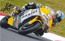 ALEX De ANGELIS Signed JIR Moto2 Colour Photo