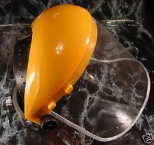 CLEAR FLIP UP FACE SHIELD New goggle mask glasses heavy duty