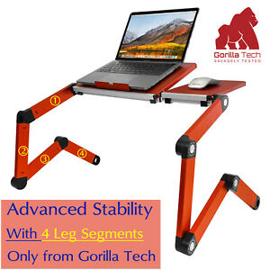 Multifunctional Laptop Desk Adjustable Folding Stand For Bed Table Couch Floor