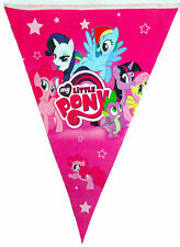 MY LITTLE PONY PARTY FLAG BANNER BUNTING - PARTY DECORATIONS - 1 PACK