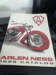 Arlen Ness 1998 Parts Catalogue/Brochure (Harley Davidson) (Rare)