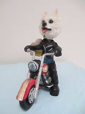 American Eskimo On Motorcycle See All Breeds & Bodies @ Ebay Store