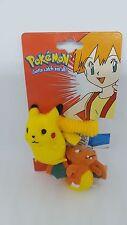 Pokemon hair ties plush vintage cosplay nintendo pikachu new carded accessory