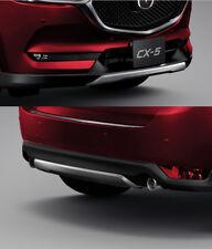 Genuine Front Rear Under Garnish Skirt Spoilers Lip Kit New Mazda CX-5 2017-19