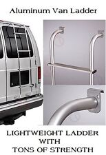 Van Ladder Rear Door Aluminum Mount Step Over Rack Hook For Ford Chevy GMC Dodge