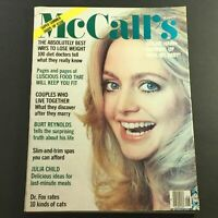 VTG McCall's Magazine June 1978 Vol CV #9 Goldie Hawn, Julia Child, Newsstand