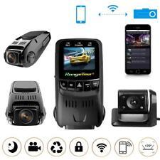 Dual Lens WIFI Auto Kamera DashCam HD 1080P DVR Recorder Versteckte Camcorder