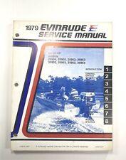 1979 Evinrude 25 35 HP OMC Outboard Service Shop Repair Manual PN 5427