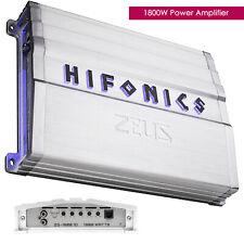 Hifonics Zeus ZG-1800.1D 1800W Mono Subwoofer Class D Car Audio Amplifier Amp