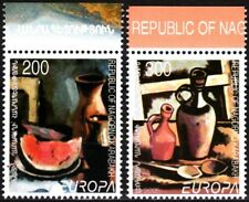 ARMENIA / KARABAKH 2005 EUROPA: Gastronomy. Paintings. Set, MNH