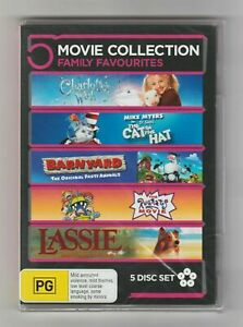 5 Movie Collection (DVD) VGC FREE POST