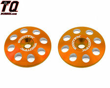Exotek Racing EXO1665org 22mm 1/8 XL Aluminum Wing Buttons (2) (Orange)