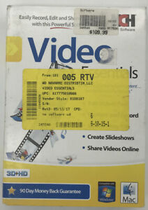 NCH Video Essentials Essential Video Software For Windows/Mac