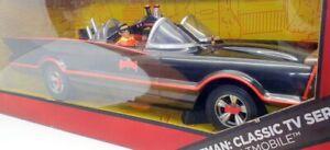 "Mattel 45cm Long CKK31 - BatMobile ""Classic TV Series"" Includes Batman & Robin"