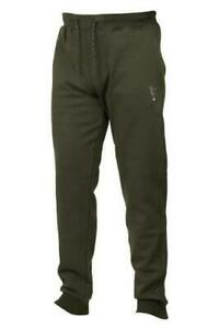 Fox Collection Green Silver Joggers *All Sizes* NEW Carp Fishing Clothes